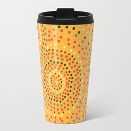 Aboriginal circles Travel Mug