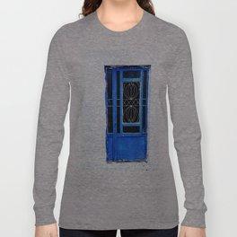 Greek Blue Long Sleeve T-shirt
