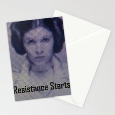 The Resistance starts now Stationery Cards