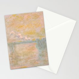 "Claude Monet ""Charing-Cross Bridge in London"" (1902) Stationery Cards"