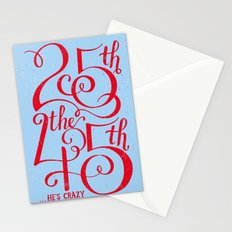 25th the 45th Stationery Cards
