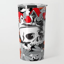 Royal Poppy Garden  Travel Mug