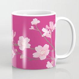 Cherry Blossom - Magenta Coffee Mug