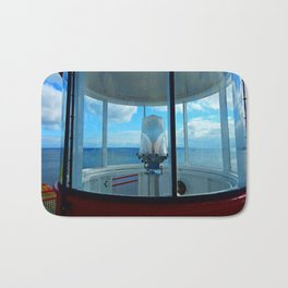 Lighthouse and Sea Beyond, seen from the Balcony Bath Mat