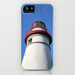 Marblehead Lighthouse in Ohio iPhone Case