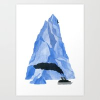 The Living Iceberg Art Print