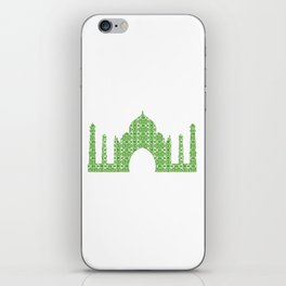 Taj Mahal Art iPhone Skin