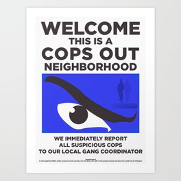 Neighborhood Watch II Art Print