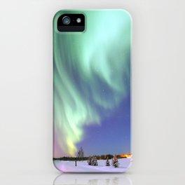 Aurora Borealis, or Northern Lights, Alaska  iPhone Case