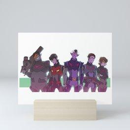 GALRAVOLTRON Mini Art Print