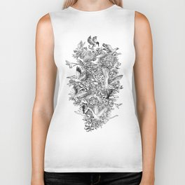 Blooming Flight Biker Tank