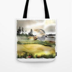 Heron Wetlands Tote Bag