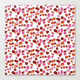 Quince flower pattern 1 Canvas Print