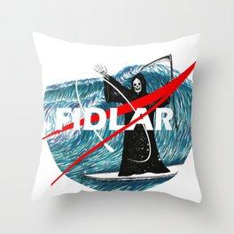 NASA FIDLAR LOGO Throw Pillow