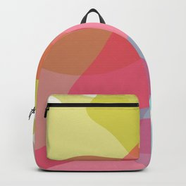 abstract painting Backpack