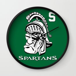 The Spartans Wall Clock