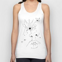 sketch Tank Tops featuring Sketch by LEIGH ANNE BRADER