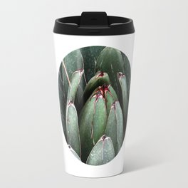 ALOE VERA PLANT ART PHOTO Close Up Plant Leaves Decor Travel Mug