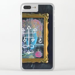 Demon Seal Clear iPhone Case