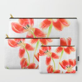Tulip Love Carry-All Pouch