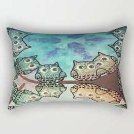 owl-70 Rectangular Pillow