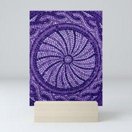 Ultra Violet Stone Tiles 18-3838 Mini Art Print