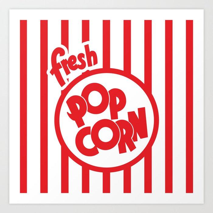 Fresh Popcorn Kunstdrucke