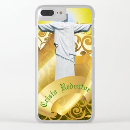 The Cristo Redentor Clear iPhone Case