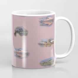 Highland Landmarks in pink Coffee Mug