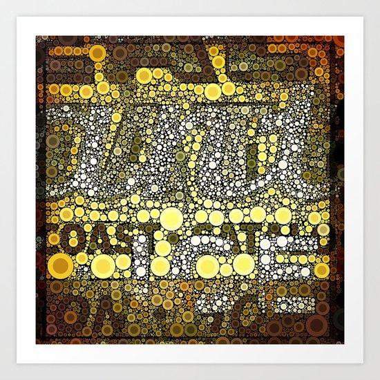 Junction Art Print