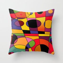 Abstract #79 Throw Pillow