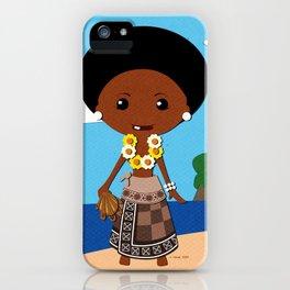 Girls of the World: Fiji iPhone Case