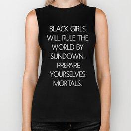 Black Girls Will 2 Biker Tank