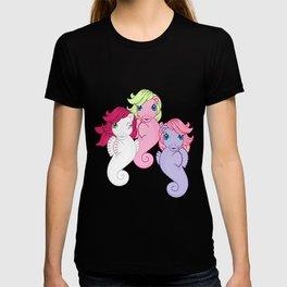 g1 my little pony sea ponies T-shirt