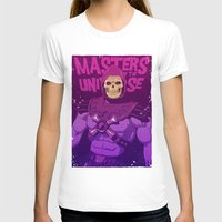 skeletor T-shirts featuring Masters of the Universe - Skeletor by Mike Wrobel