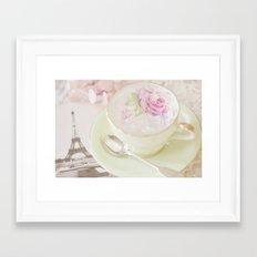 Paris Tea Framed Art Print