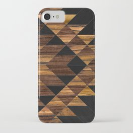 Urban Tribal Pattern 11 - Aztec - Wood iPhone Case