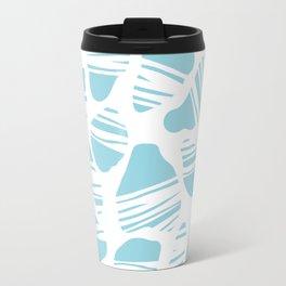 Okapi Animal Print [Island Blue] Travel Mug