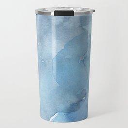 blue#2 Travel Mug