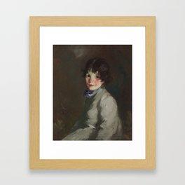 Catharine by Robert Henri Framed Art Print