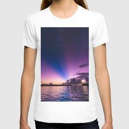 Beautiful Purple Sunset T-shirt