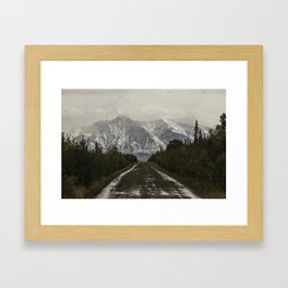 Saint Elias Mountains Framed Art Print