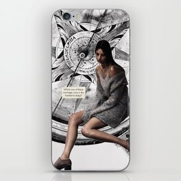 Which one of these marriage vows is the hardest to keep? iPhone Skin