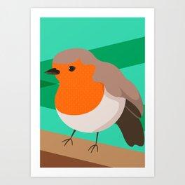 Robin Print Art Print