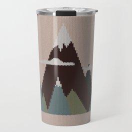 Misty Mountain Knit Travel Mug