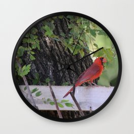 A visit from Heaven Wall Clock