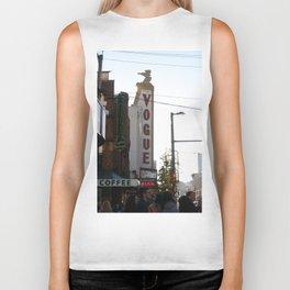 Vogue Sign Granville Street Biker Tank