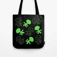 Aliens-Green Tote Bag