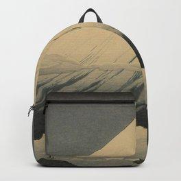 Shotei Takahashi Four Seasons of Mount Fuji Near Omuro Kawase Hasui Japanese Woodblock Print Backpack