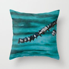 Birds of a Feather by Teresa Thompson Throw Pillow
